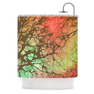 Skies Single Shower Curtain