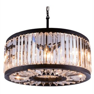 Dorinda8-Light Crystal Chandelier by Ever..