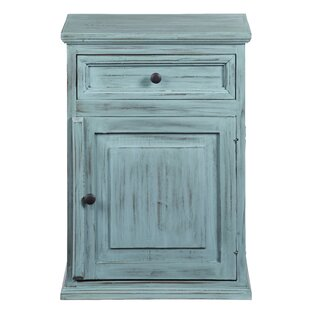 Ophelia & Co. Abram 1 Drawer Nightstand