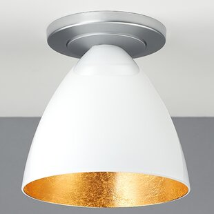 Bruck Lighting Cleo 1-Light Flush Mount