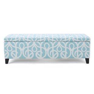 Charlton Home Adair Upholstered Storage Bench