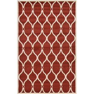 Molly Red Area Rug byWinston Porter