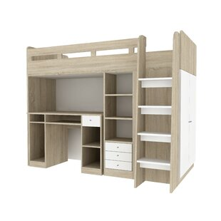 Bunk Desk Kids Beds You Ll Love Wayfair