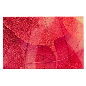Ingrid Beddoes 'Delicate Leaves' Doormat