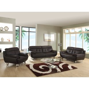 Dangelo 3 Piece Living Room Set (Set of 3) by Orren Ellis