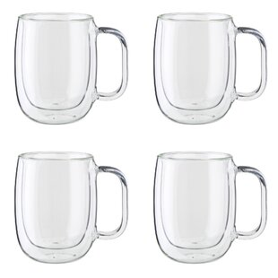 Sorrento Plus 4 Piece Coffee Mug Set (Set of 4)
