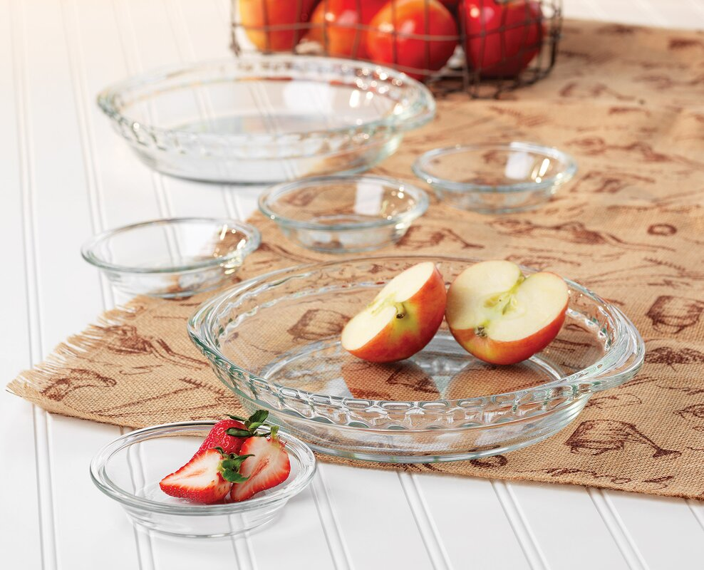 Baker's Basics 6-Piece Pie Dish Set
