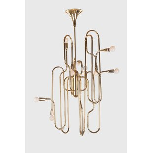 Stilnovo Trumpet Novelty Chandelier