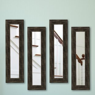 Brayden Studio Panel Accent Mirror (Set of 4)
