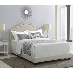 Cathey Shaped Back Upholstered Standard Bed