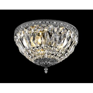 Find for Baronets 2-Light Flush Mount By Astoria Grand