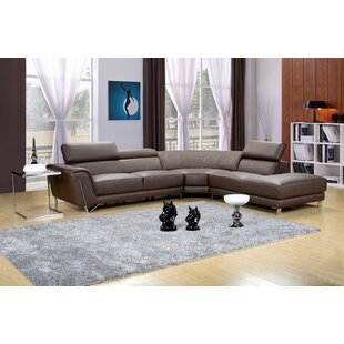 Buy luxury Dela Sectional by Hokku Designs Reviews (2019) & Buyer's Guide