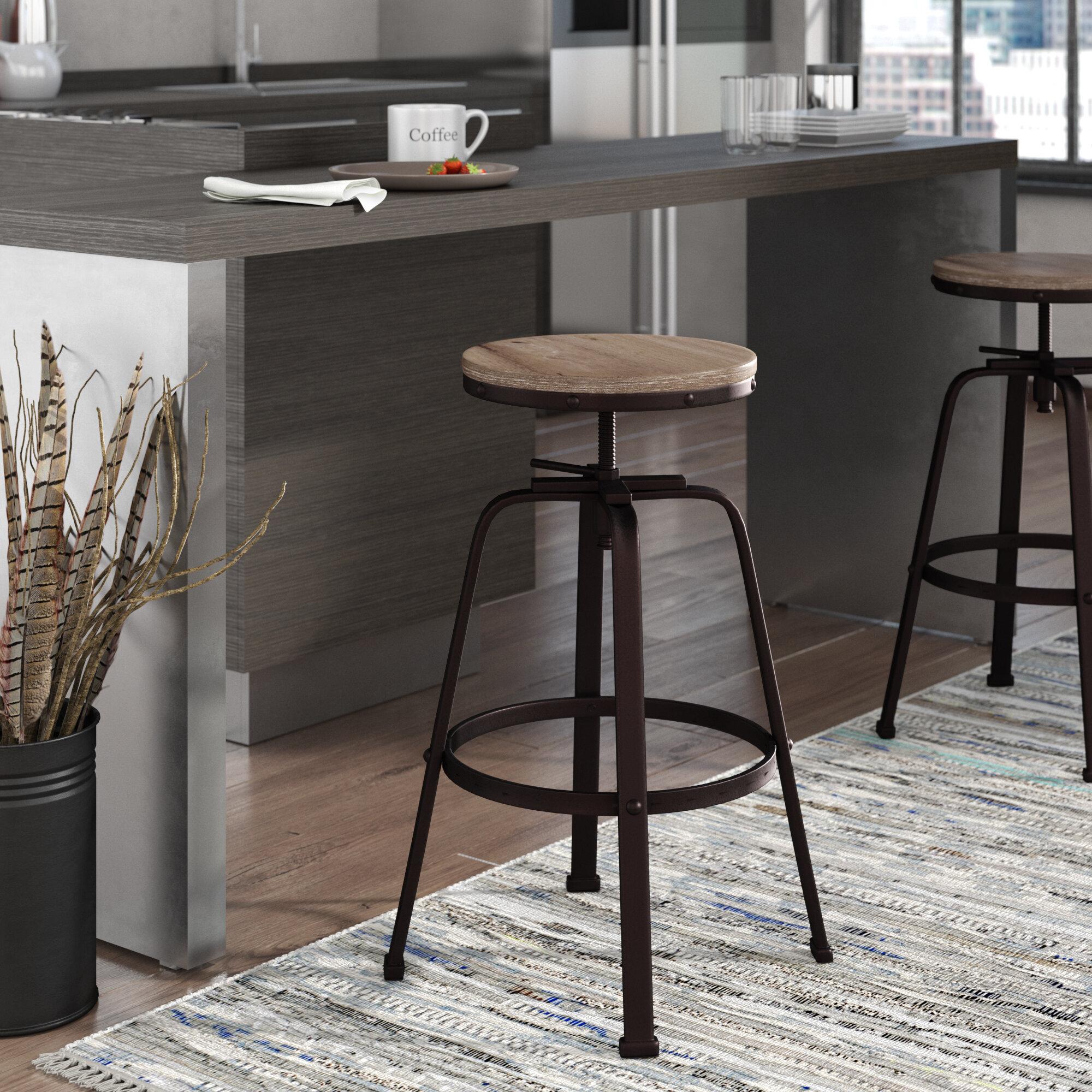 Wondrous Mullings Adjustable Height Bar Stool Gamerscity Chair Design For Home Gamerscityorg