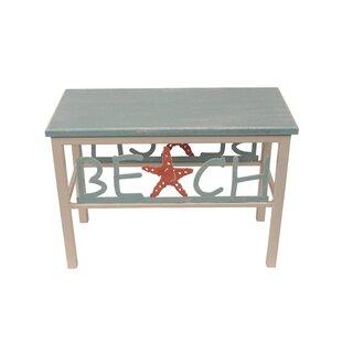 Highland Dunes Innis Beach/Starfish Wood Bench