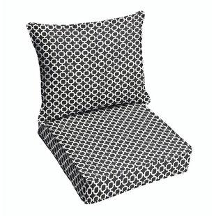 Samantha Geometric Dining Chair Cushion