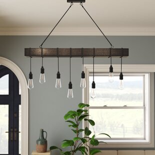 Wyckhoff 8-Light Kitchen Island Bulb Pendant