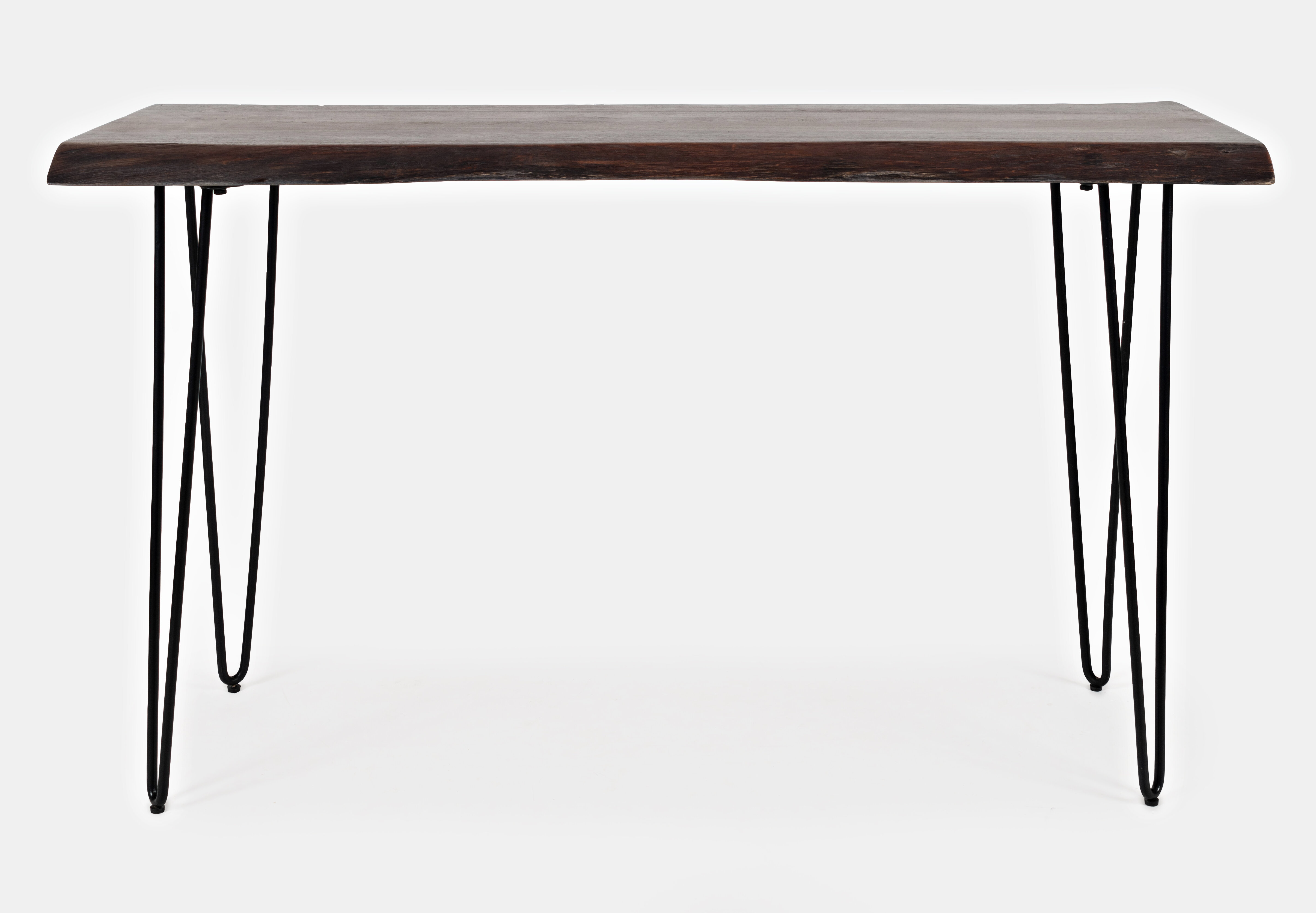 Union Rustic Lolotoe 50 Solid Wood Console Table Reviews Wayfair