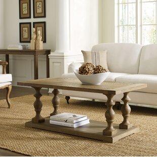 Henryson Pedestal Coffee Table by Gracie Oaks