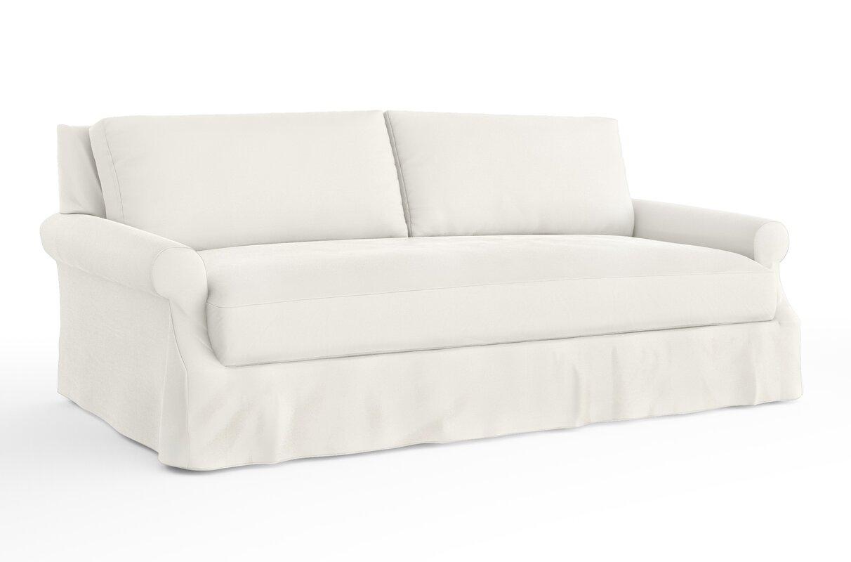 sc denim slipcover slipcovered sofa bleachedwht hunter long