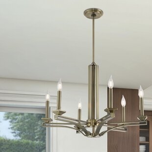 Darby Home Co Dedham 6-Light Chandelier