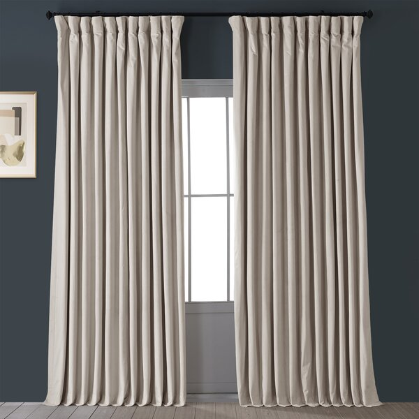double wide linen curtains