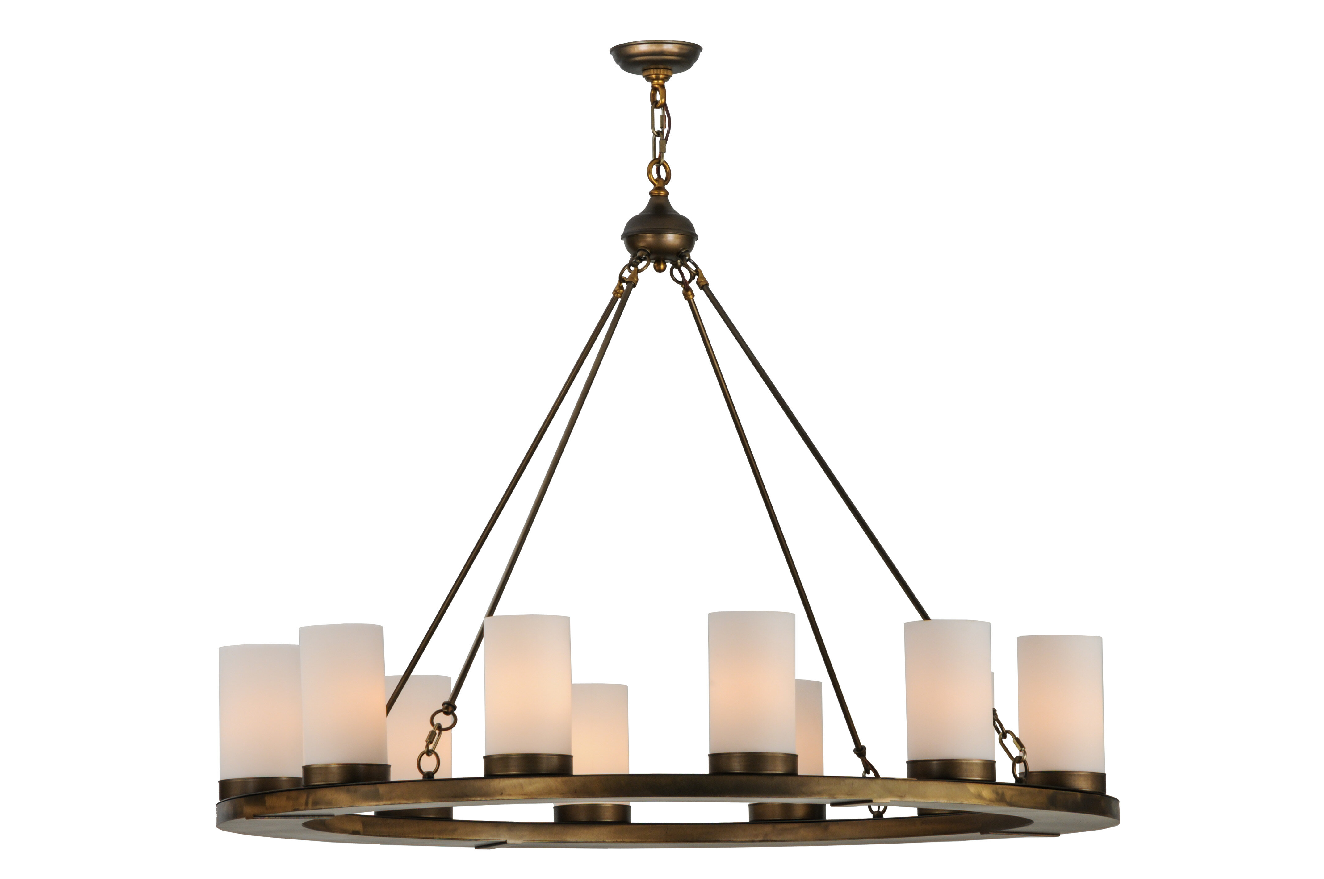 Meyda Tiffany 12 Light Unique Statement Wagon Wheel Chandelier Wayfair