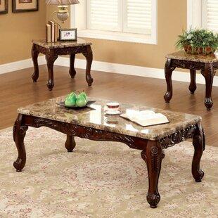Astoria Grand Sherill 3 Piece Coffee Table Set
