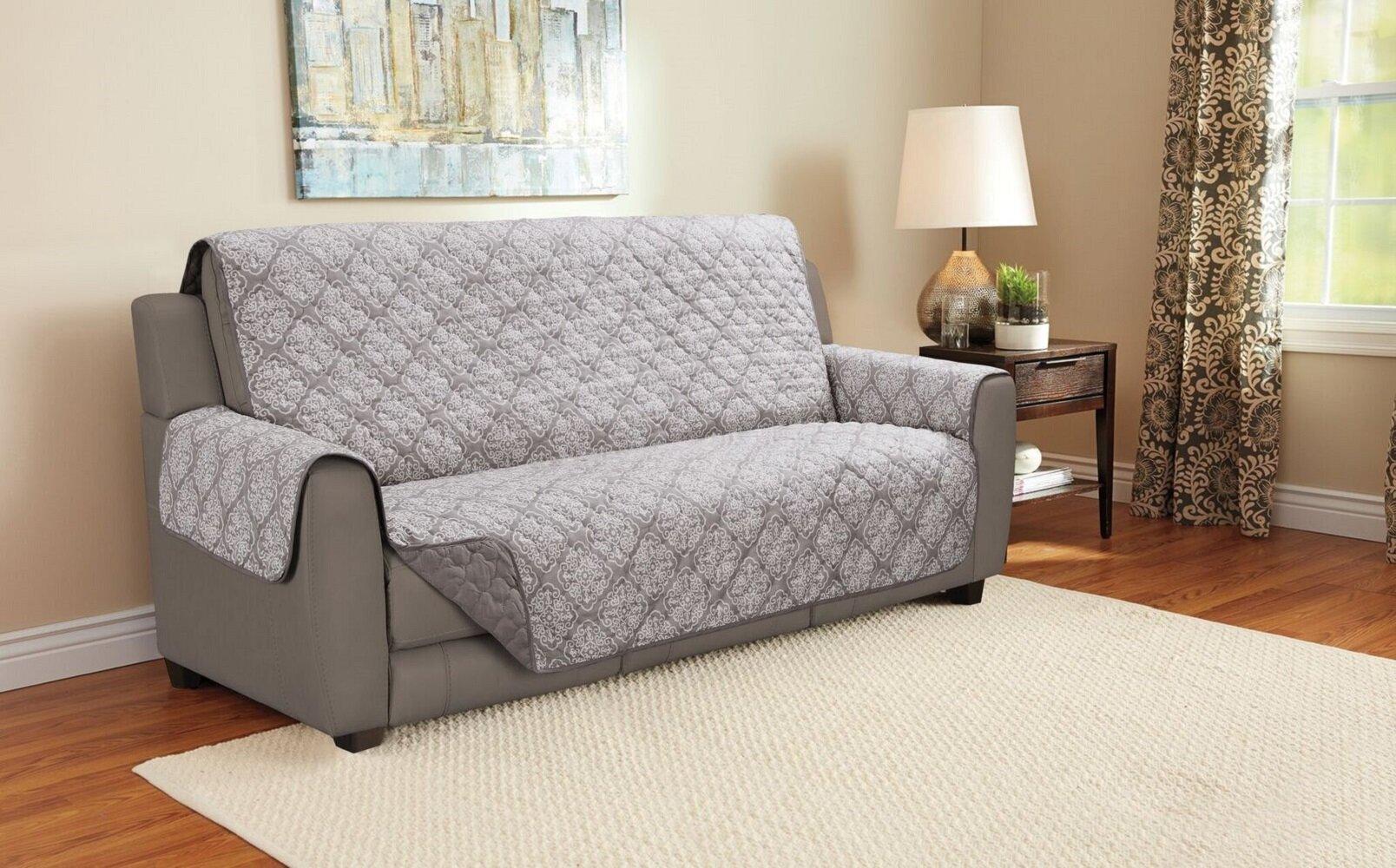 Charlton Home Giambrone Furniture Protector Sofa Slipcover Reviews Wayfair