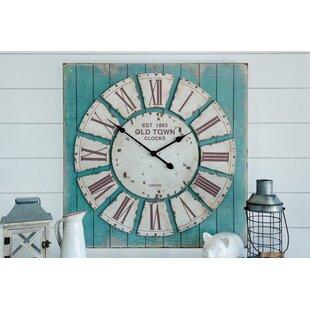 Oversized Bemelle Rustic Wall Clock