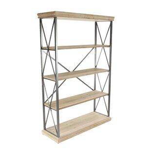 Lykens Modern 4 Tier Etagere Bookcase