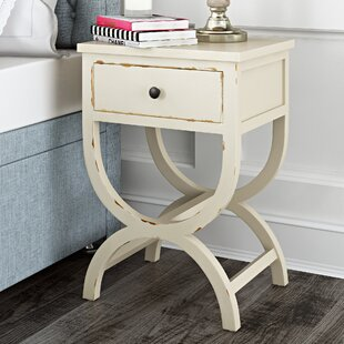 Read Reviews Laverriere End Table with Storage By One Allium Way