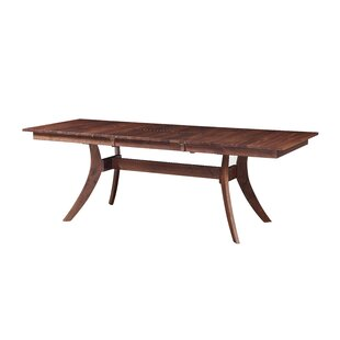 Waris Extendable Dining Table by Bloomsbury Market #1