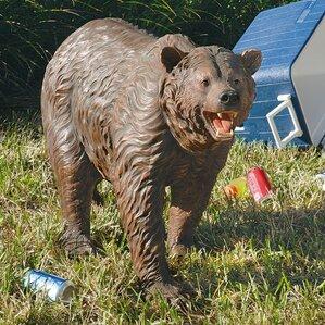 Grand Scale Bear Garden Statue