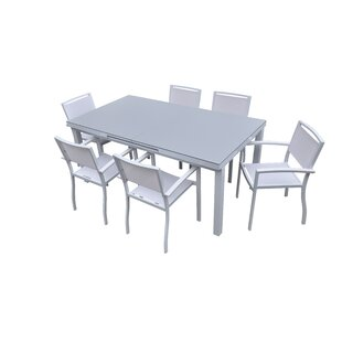 Hornback Outdoor Extendable Dining Table