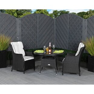Review Esposito 2 Seater Bistro Set With Cushions