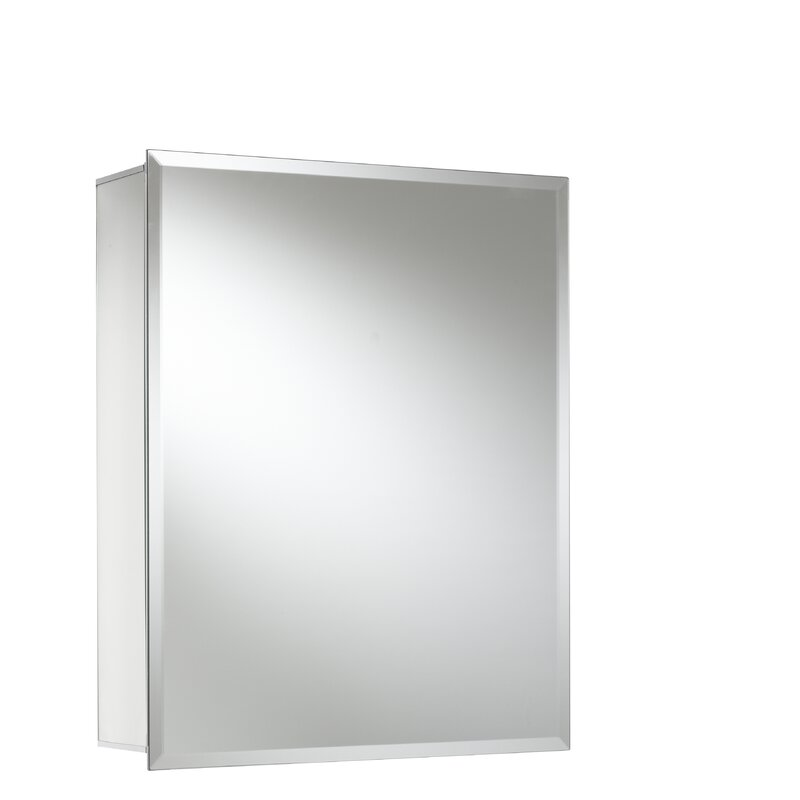 16 X 20 Recessed Or Surface Mount Medicine Cabinet Reviews Joss Main
