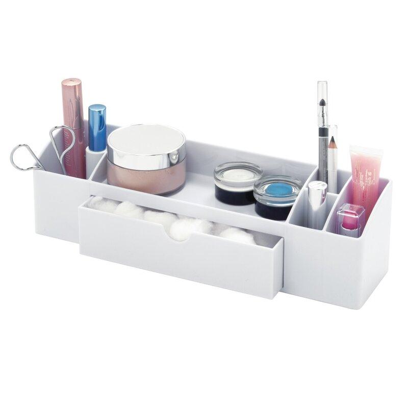 InterDesign Cottrell Medicine Drawer Caddy Cosmetic Organizer   Wayfair