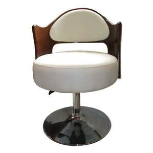 Caravan Adjustable Leather Barrel Chair by Ceets