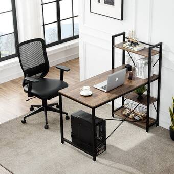 Inbox Zero Reversible L Shape Gaming Desk And Chair Set Reviews Wayfair