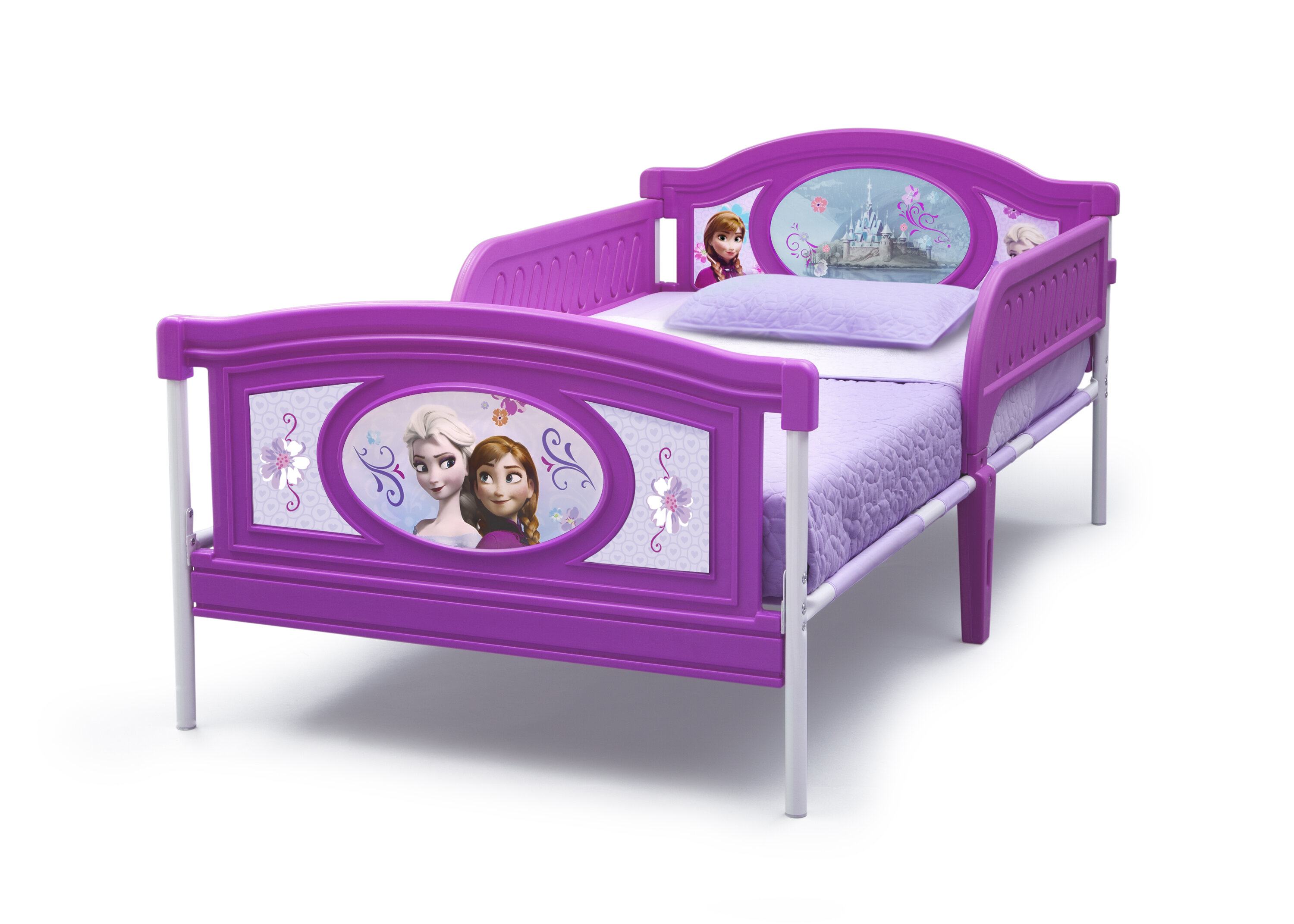 Delta Children Frozen Twin Toddler Bed Reviews Wayfair