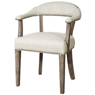 Predmore Bonded Nail Head Upholstered Dining Chair by Gracie Oaks