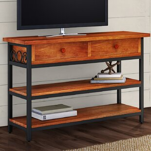 Inexpensive Carrollton Scrollwork TV Stand for TVs up to 49 by Loon Peak Reviews (2019) & Buyer's Guide