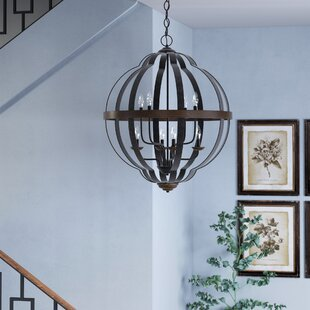 Laurel Foundry Modern Farmhouse Ingrid 8-Light Globe Chandelier