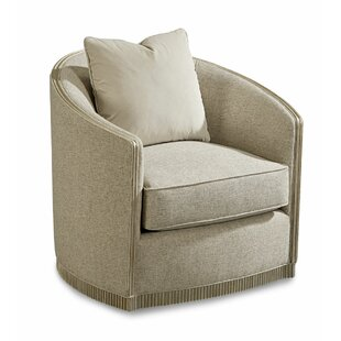 Dule Swivel Barrel Chair by Rosdorf Park