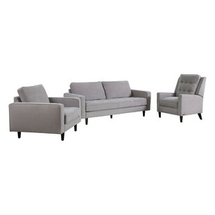 Best Reviews Kohen 3 Piece Living Room Set by Brayden Studio Reviews (2019) & Buyer's Guide
