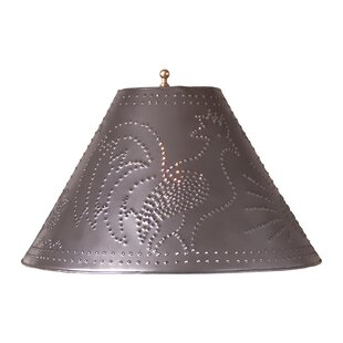 Rooster 15 Metal Empire Lamp Shade