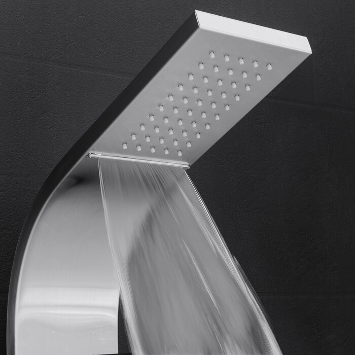 AKDY Temperature Control Rain Shower Head Shower Panel & Reviews ...