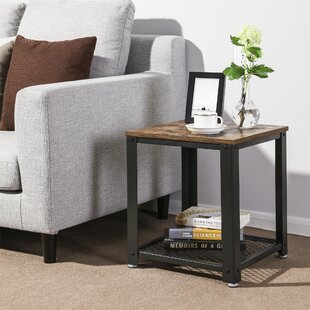 Parente 2-Tier End Table with Storage