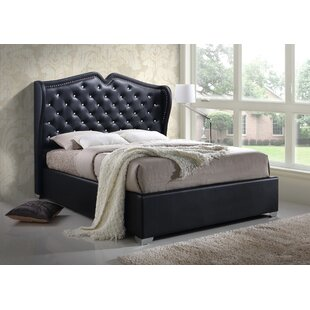 Houon Modern Queen Upholstered Platform Bed by Rosdorf Park