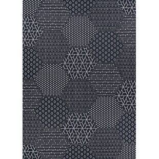 Watertown Black Indoor/Outdoor Area Rug